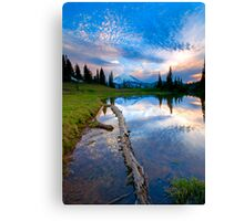 Cloud Explosion Canvas Print