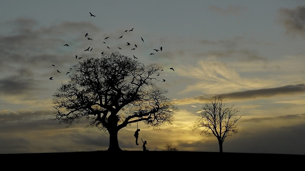 Decoratin' the Tree by Matt West