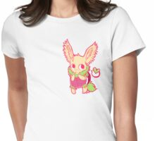 Turtle Fluff Womens Fitted T-Shirt