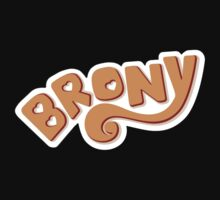 Brony Logo - Orange by graphix
