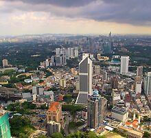 Cityscape IV - Kuala Lumpur, Malaysia. by Tiffany Lenoir