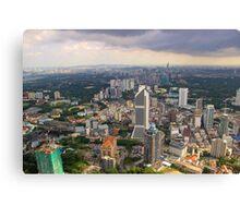 Cityscape IV - Kuala Lumpur, Malaysia. Canvas Print