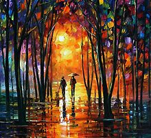Misty Night — Buy Now Link - www.etsy.com/listing/172707831 by Leonid  Afremov