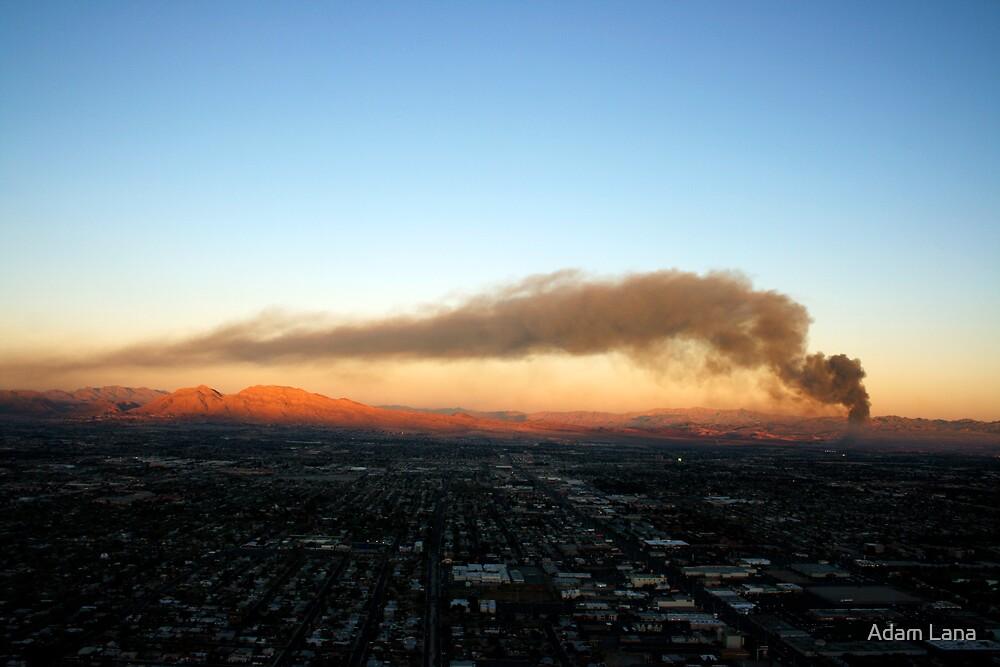 Vegas is on Fire by Adam Lana