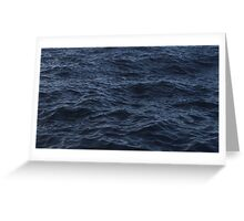 Rough Sea Greeting Card