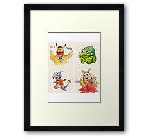 muppets crossover pokemon  Framed Print