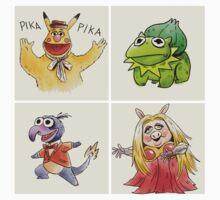 muppets crossover pokemon  T-Shirt