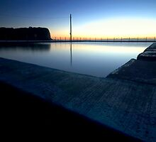 Tidal pool @ Mona Vale Beach by Rachapong P.