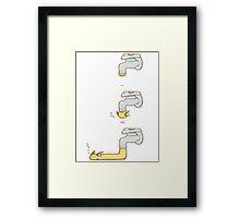 Raichu lol cute design Framed Print