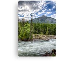 Swiftly Moving Canvas Print