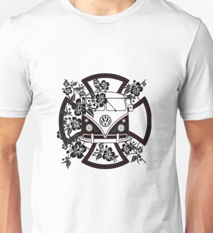 VW Hibiscus Split screen Unisex T-Shirt