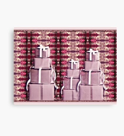 holiday gifts Canvas Print