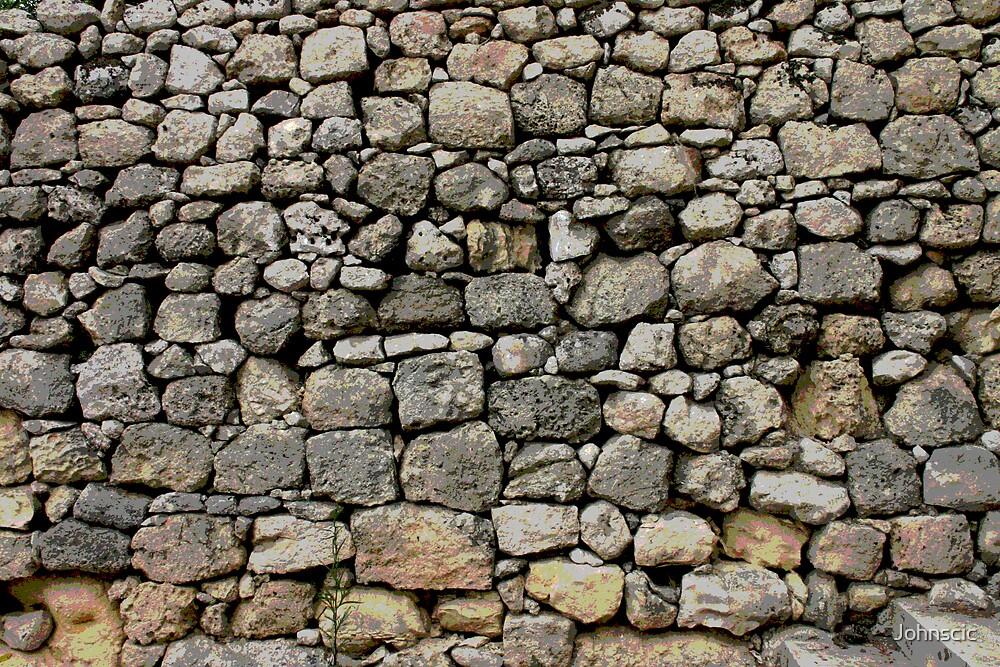 Rubble Wall - Dingli - Malta by Johnscic