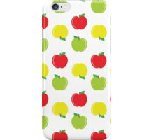 Yellow, Red, and Green Apples Pattern iPhone Case/Skin