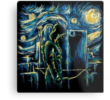 Starling Night (Arrow & Van Gogh) Metal Print
