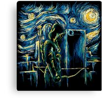 Starling Night (Arrow & Van Gogh) Canvas Print
