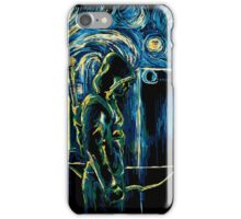 Starling Night (Arrow & Van Gogh) iPhone Case/Skin