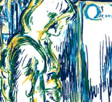 Starling Night (Arrow & Van Gogh) Sticker