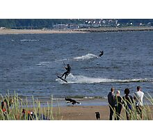 Surf Boarder Photographic Print