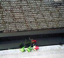 Red Rose in Memory of the Fallen by blackadder