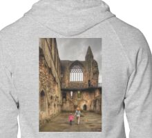 Learning History at a Young Age Zipped Hoodie