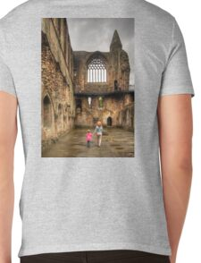 Learning History at a Young Age Mens V-Neck T-Shirt