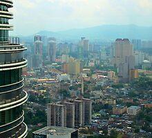 Cityscape V - Kuala Lumpur, Malaysia. by Tiffany Lenoir