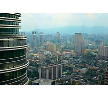 Cityscape V - Kuala Lumpur, Malaysia. Photographic Print