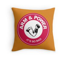 ARM & POWER Throw Pillow