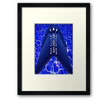 Watch now Framed Print