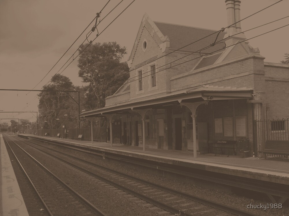 Emu Plains Railway Station by chucky1988