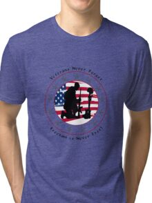 Never Forget 1.0 Tri-blend T-Shirt