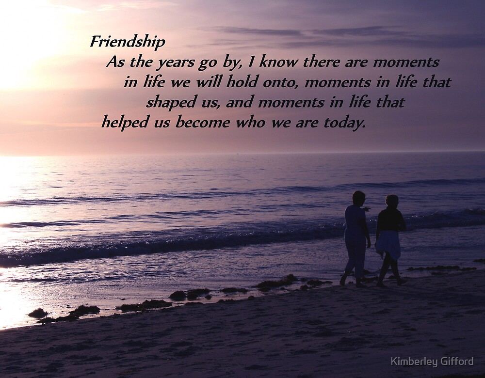 Friendship by Kimberley Gifford