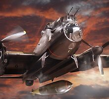 Lancaster Bomber by Matt West