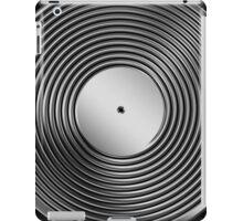 Vinyl LP Record - Metallic - Steel iPad Case/Skin