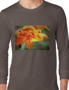 Merry amaryllis Long Sleeve T-Shirt