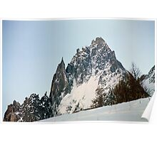 Rugged Peaks Poster