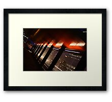 Waiting for nothing Framed Print