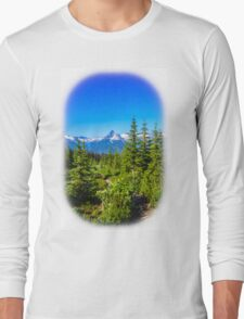 Rocky mountain  Meadows Long Sleeve T-Shirt