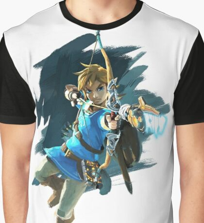Breath of the Wild: Link Bow Graphic T-Shirt