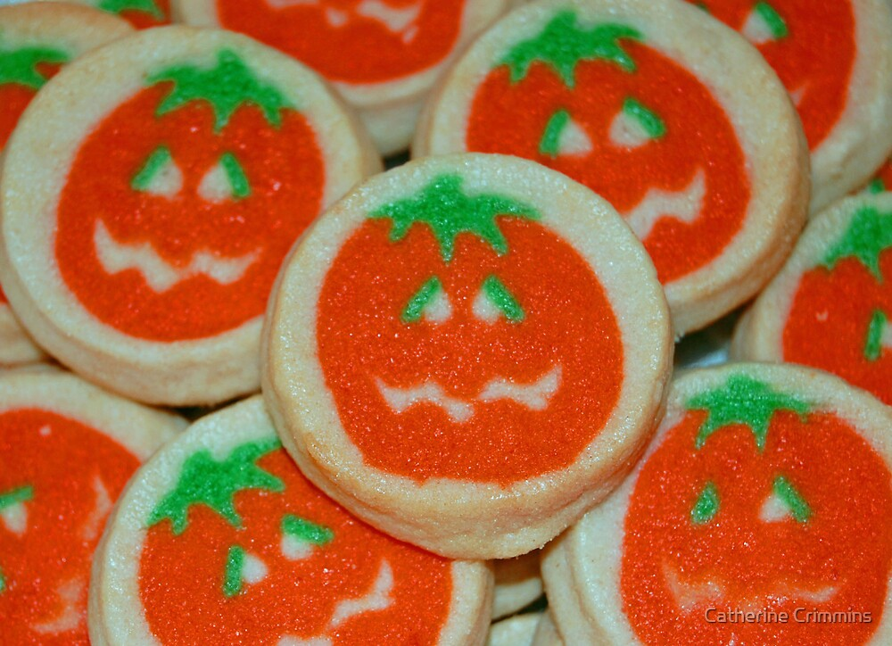 Halloween Cookies by Catherine Crimmins