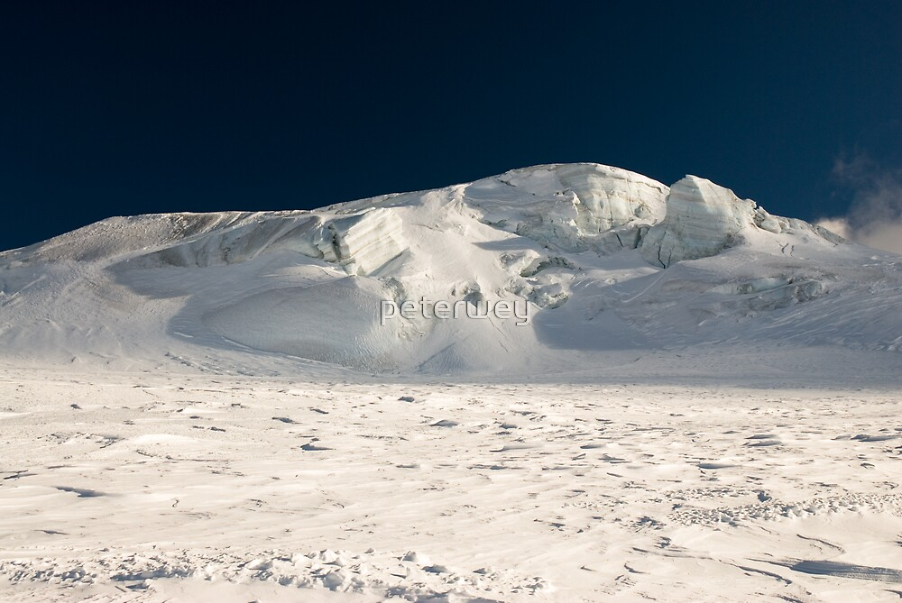 Ice structures in high alps by peterwey