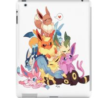 eevee cool evolutions design  iPad Case/Skin