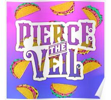 Pierce The Veil Ombre Taco Poster