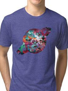 Saturn's Face Tri-blend T-Shirt