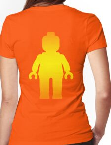 Minifig [Large Golden], Customize My Minifig Womens Fitted T-Shirt