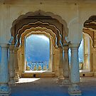 Row of Arches, Amber Fort by theurbannexus
