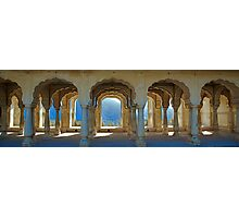 Row of Arches, Amber Fort Photographic Print