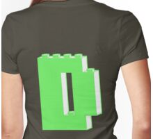 THE LETTER D, Customize My Minifig Womens Fitted T-Shirt