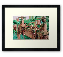 Fire Connection Framed Print